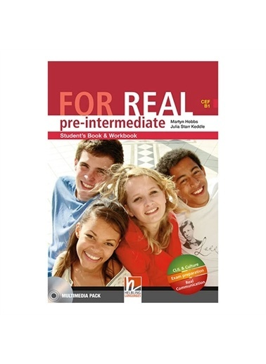 Panel Kırtasiye For Real Pre-ıntermediate Students Book-Work Book Helbling Yay Renkli